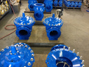 Singer Hydraulic Control Valves with Interior and Exterior Fusion Bonded Epoxy Coatings